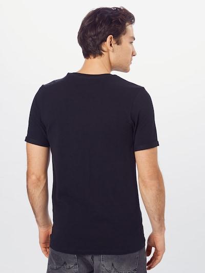 JACK & JONES Shirt in de kleur Zwart: Achteraanzicht