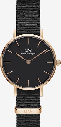 Daniel Wellington Uhr 'Petite 28 Cornwall' in rosegold / schwarz, Produktansicht