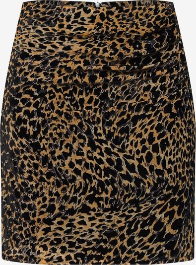 SOAKED IN LUXURY Rock 'SLAstred Skirt' in beige / schwarz, Produktansicht