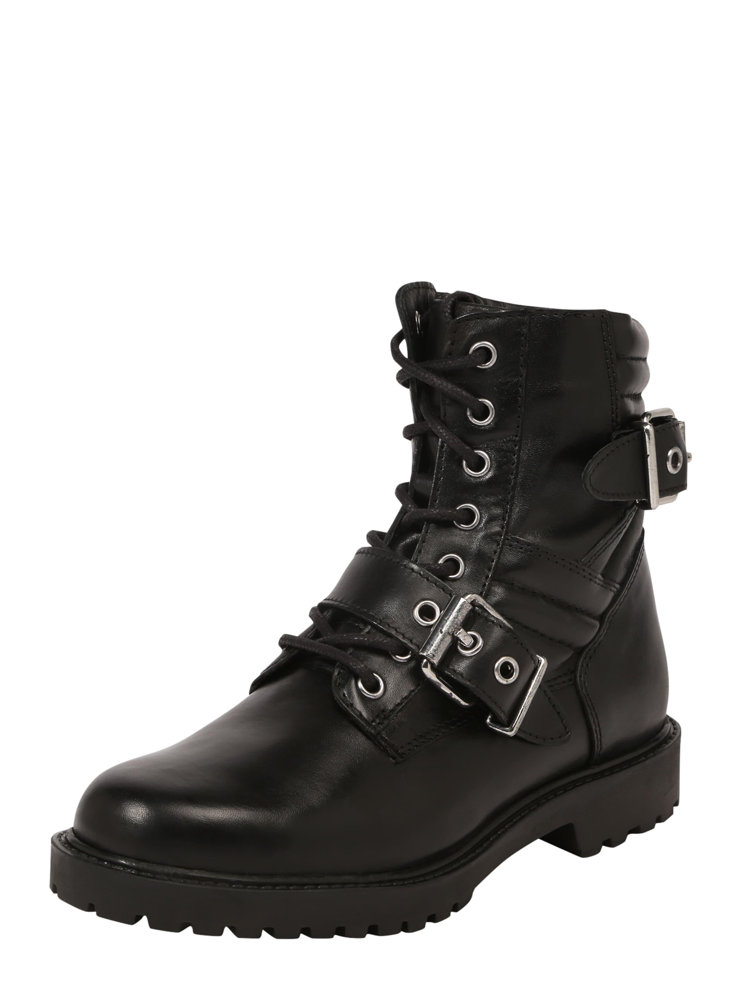 PS Poelman Schnürstiefelette Verschleißfeste billige Schuhe