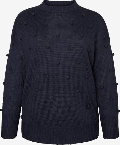Junarose Pullover in nachtblau, Produktansicht