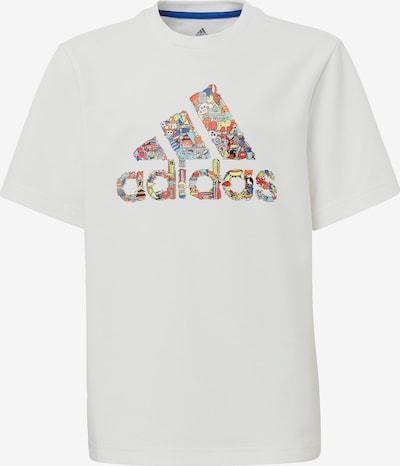 ADIDAS PERFORMANCE T-Shirt in mischfarben / weiß, Produktansicht