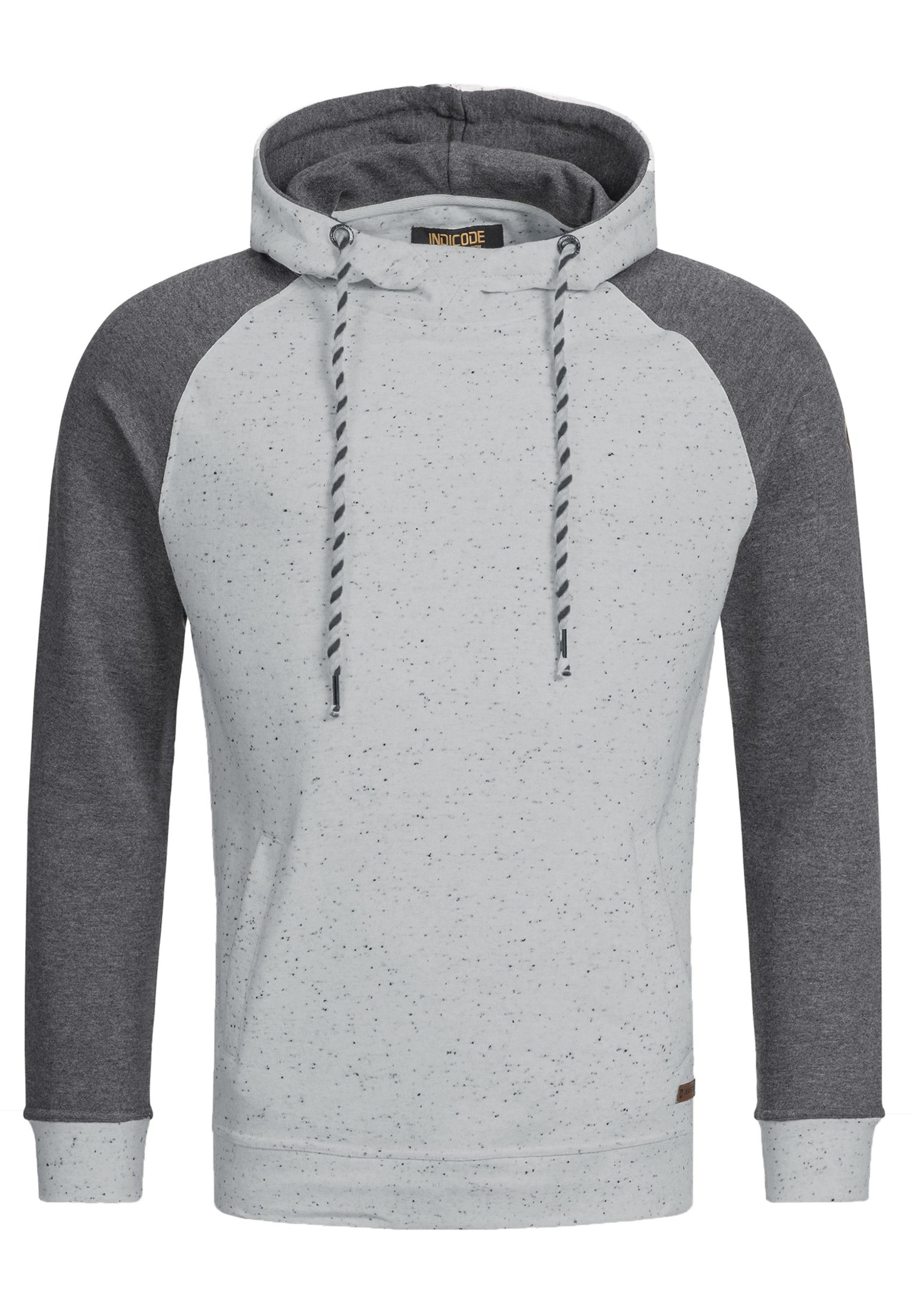 Jeans 'ilyes' HellgrauDunkelgrau Indicode Sweatshirt In 7f6ygYbv