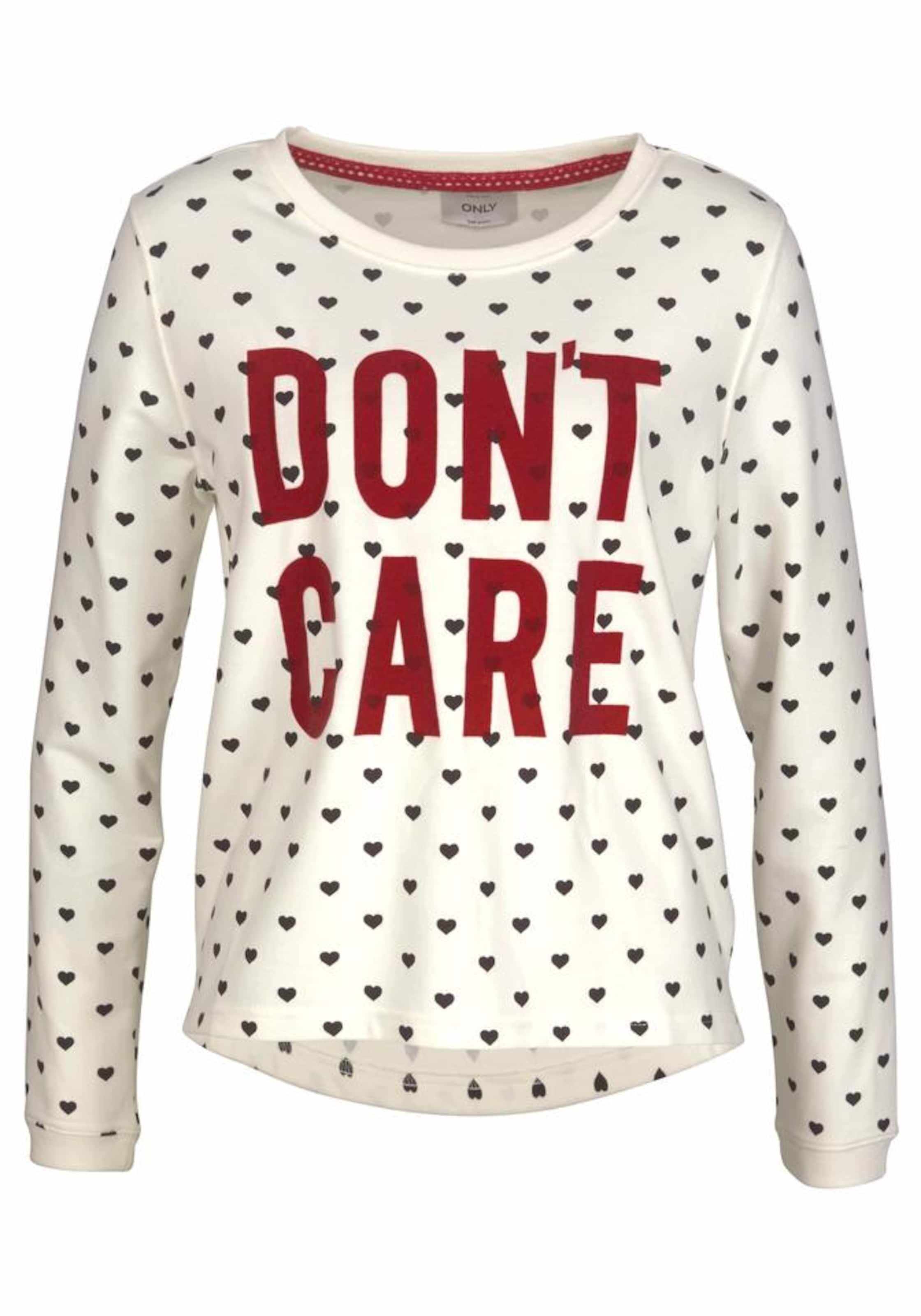 ONLY Sweatshirt 'AMINA' Steckdose Shop Bester Ort Zum Verkauf hvKl0oIi