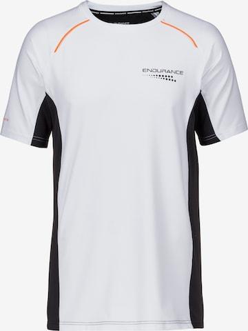 ENDURANCE T-Shirt 'David' in Weiß