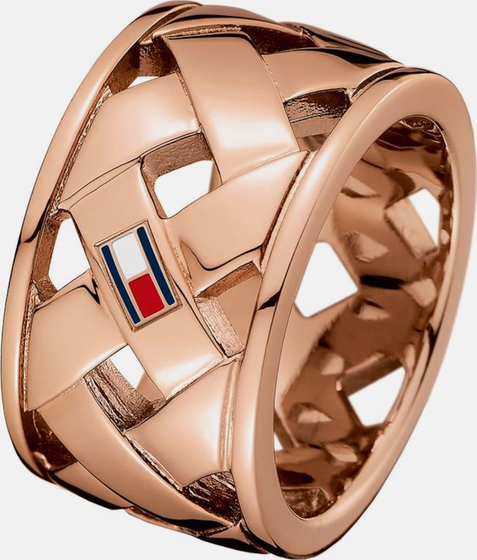 TOMMY HILFIGER Fingerring 'Classic Signature'