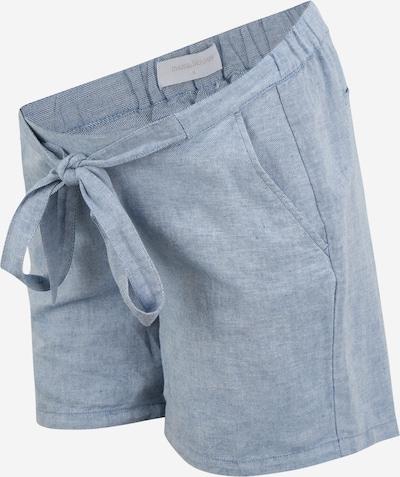 Pantaloni 'HILO' MAMALICIOUS pe albastru deschis, Vizualizare produs