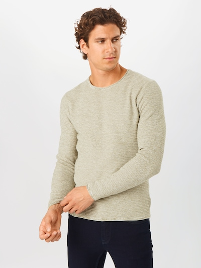 Only & Sons Pullover 'Wictor' in beige: Frontalansicht