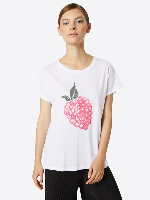 Armedangels PinkOffwhite Shirt Berry' 'nela In kZOXiPu