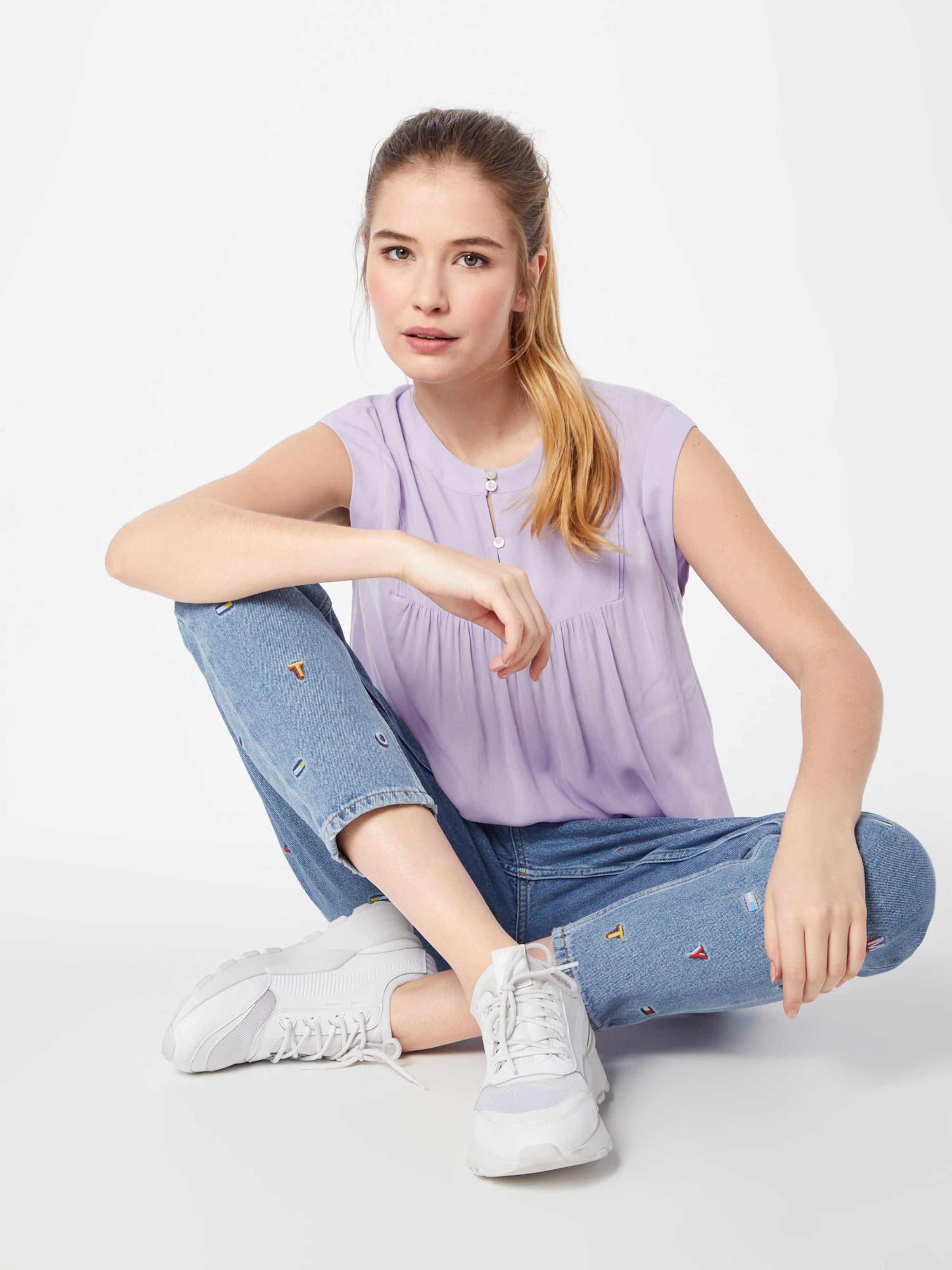 Bluse In Flieder Sleeveless Tommy 'tjw Jeans Blouse' stQrhCdx