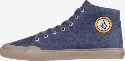 Volcom Sneaker 'Hi Fi' in blue denim: Frontalansicht