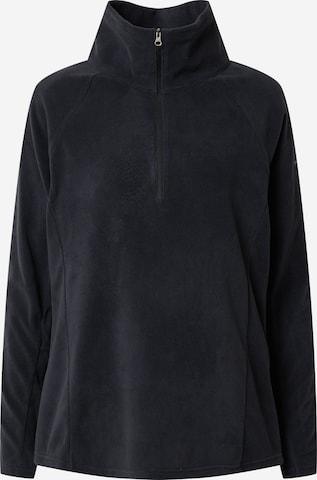 COLUMBIA Athletic Sweatshirt 'Glacial' in Black