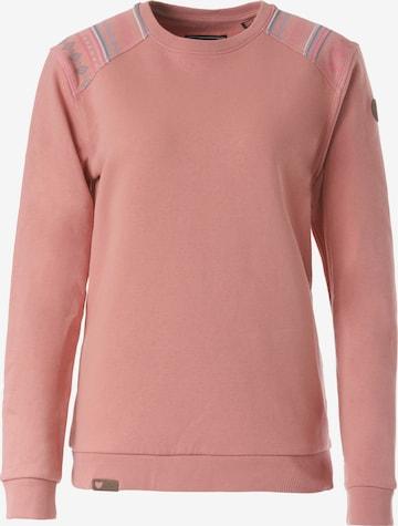 Lakeville Mountain Sweatshirt 'Luvua Ethno' in Pink
