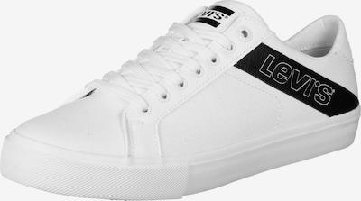 LEVI'S Schuhe ' WOODWARD L ' in schwarz / weiß, Produktansicht