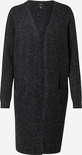 Vero Moda Petite Strickjacke 'DOFFY' in schwarz: Frontalansicht
