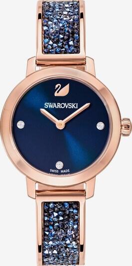 Swarovski Uhr in blau / rosegold, Produktansicht