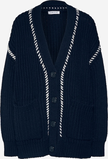 EDITED Strickjacke 'Rana' in navy, Produktansicht