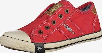 MUSTANG Sneaker in braun / rot, Produktansicht