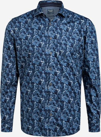 OLYMP Hemd in navy / royalblau, Produktansicht