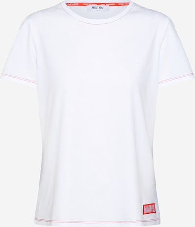 ABOUT YOU x MARVEL Shirt 'Ceylin' in white, Item view
