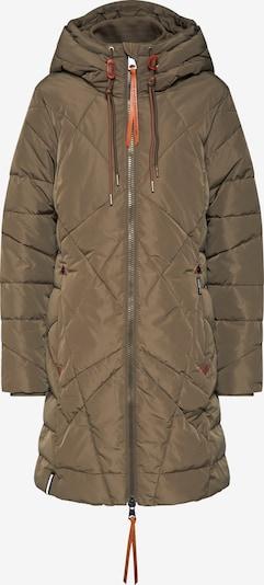 khujo Manteau d'hiver 'DANIELLA' en kaki, Vue avec produit