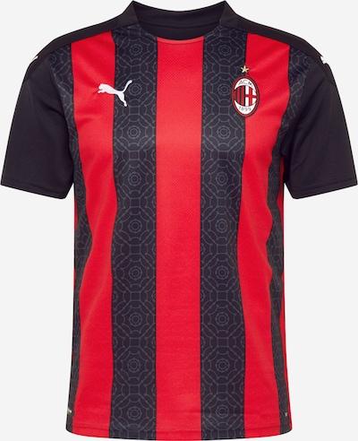 PUMA Trikot 'AC Milan' in hellgrau / rot / schwarz / weiß, Produktansicht