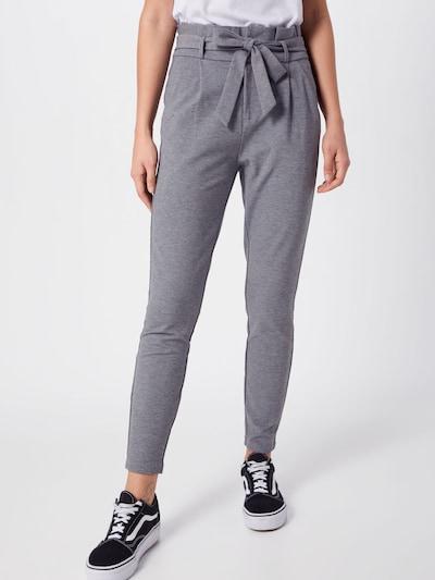 VERO MODA Pantalon 'VMEVA' en gris, Vue avec modèle