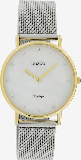 OOZOO Uhr 'C20120' in gold / silber / weiß, Produktansicht
