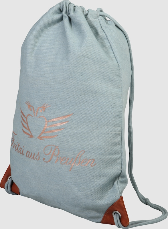Fritzi aus Preußen Festival Bag 'Fiona' in Denim-Optik