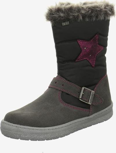 LURCHI Snowboots in de kleur Grijs / Pink, Productweergave