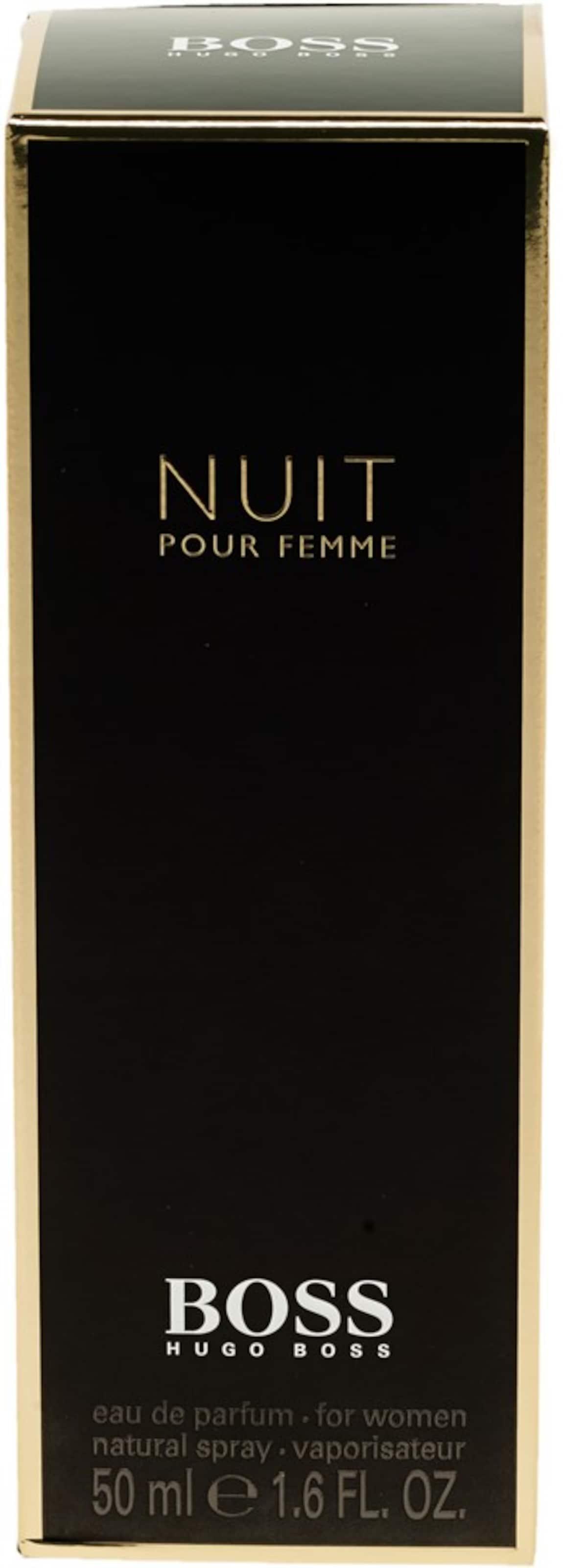 HUGO BOSS 'Boss Nuit pour Femme' Eau de Parfum Mit Paypal Günstig Online IOIoNIGM