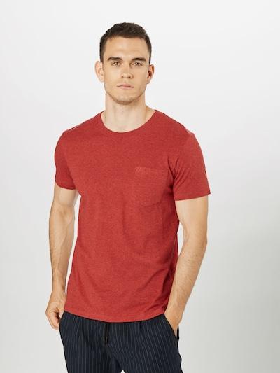 ESPRIT Tričko 'Marl' - červená: Pohľad spredu