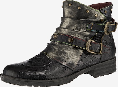 Laura Vita Ankle Boots 'Biker' in Bronze / Black, Item view