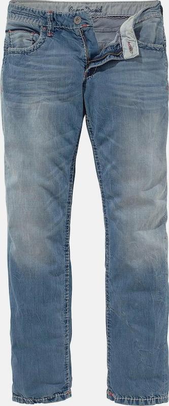 CAMP DAVID 'Loose-fit' Jeans in Blau denim  Bequem und günstig