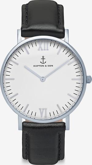 Kapten & Son Analogové hodinky 'Campina' - černá / stříbrná / bílá, Produkt