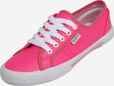 neon-rózsaszín Pepe Jeans Rövid szárú edzőcipők 'ABERLADY FLUOR', Termék nézet