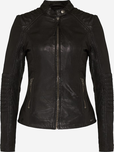 tigha Lederjacke 'Ilva' in schwarz, Produktansicht