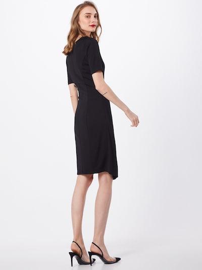 Kaffe Kleid 'KAsigne' in schwarz: Rückansicht