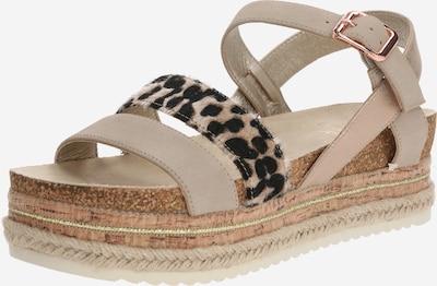 BULLBOXER Sandale in beige, Produktansicht
