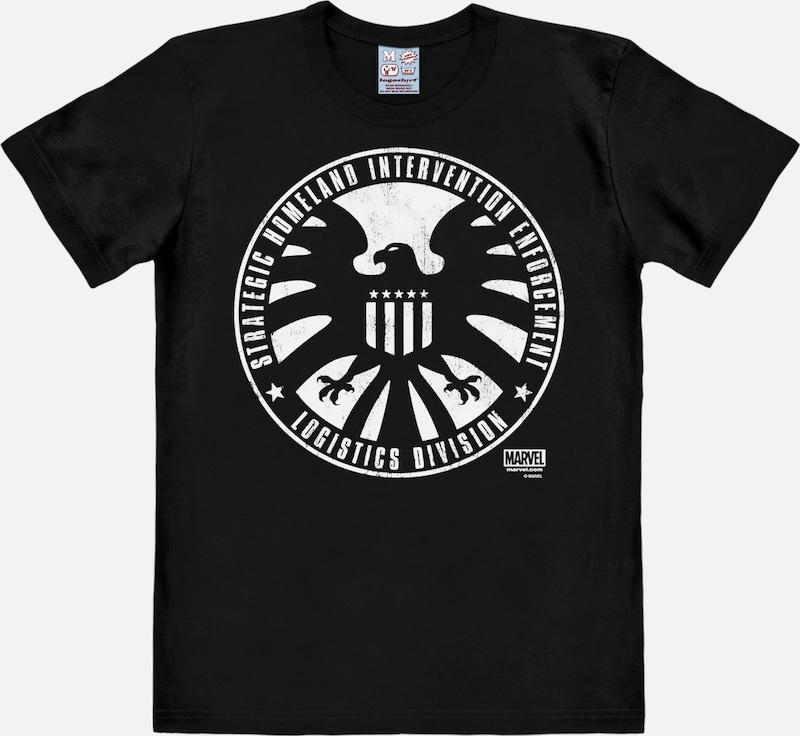 """LOGOSHIRT T-Shirt """"S.H.I.E.L.D."""""""