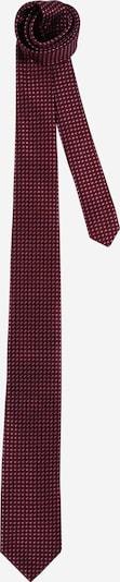 JOOP! Cravate en gris foncé / rouge carmin / noir, Vue avec produit