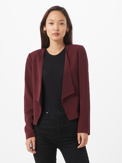 ONLY Blazer 'Carolina' in rotviolett, Modelansicht