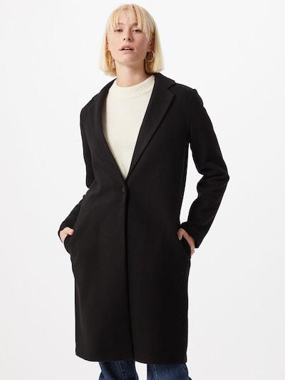 ONLY Płaszcz przejściowy 'Agnes' w kolorze czarnym: Widok z przodu