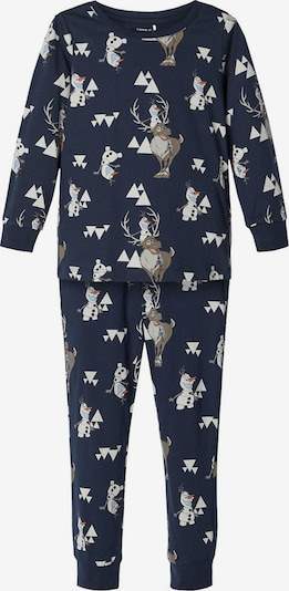 Pijamale 'Disney Olaf' NAME IT pe albastru închis / culori mixte, Vizualizare produs
