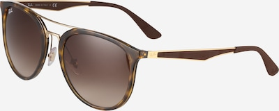 Ray-Ban Sonnebrille im Schmetterlings-Look in braun / gold, Produktansicht