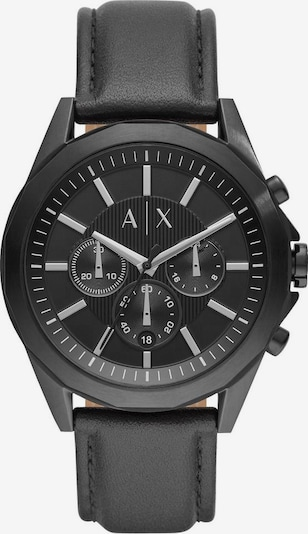 ARMANI EXCHANGE Chronograph in schwarz, Produktansicht