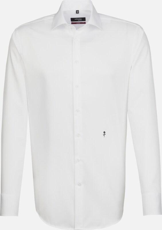 SEIDENSTICKER City-Hemd ' Modern ' in weiß  Freizeit, schlank, schlank