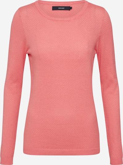 VERO MODA Pulover 'VMMINNIECARE' | roza barva, Prikaz izdelka