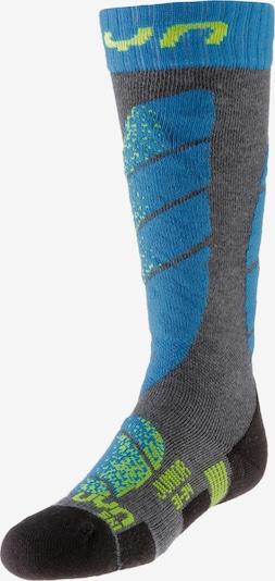 Uyn Socken in blau / grau / grün, Produktansicht