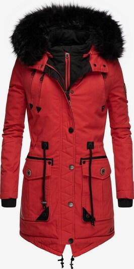 MARIKOO Wintermantel ' Knutschkugel ' in rot, Produktansicht